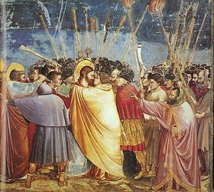 300px-Giotto_-_Scrovegni_-_-31-_-_Kiss_of_Judas.jpg